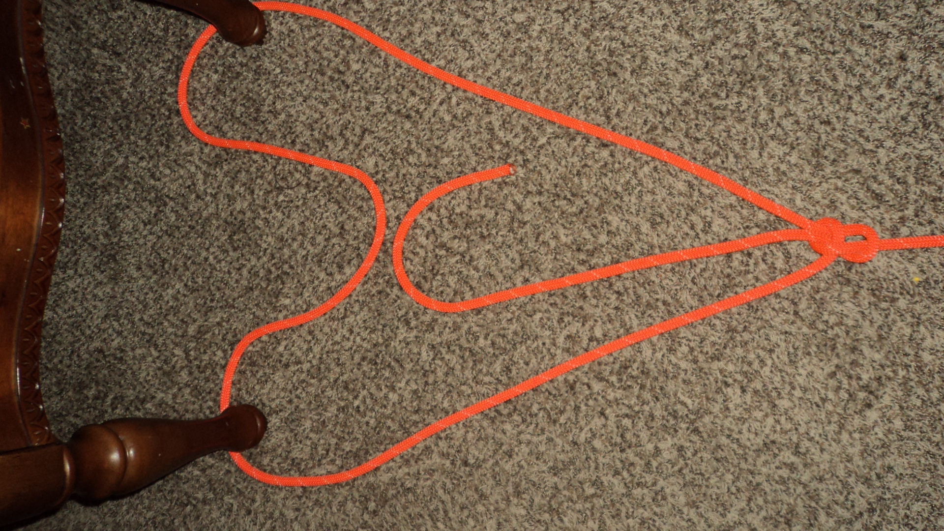 Double Loop Bowline With A Double Sheet Bend Rope Work 101